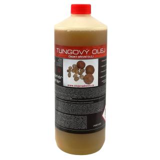 Tungový olej na dřevo